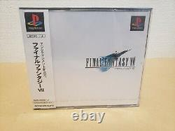 NEW Final Fantasy VII 7 FF7 PS1 Japan BEUTIFUL PLASTIC WRAP FOR COLLECTION 2