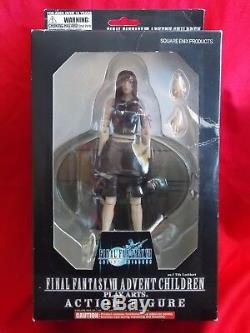 NEW! TIFA FINAL FANTASY VII ADVENT CHILDREN PLAY ARTS ACTION FIGURE 7.5 19cm UK