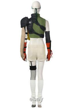 New Final Fantasy VII FF7 Yuffie Kisaragi Cosplay Costume Halloween Women Outfit