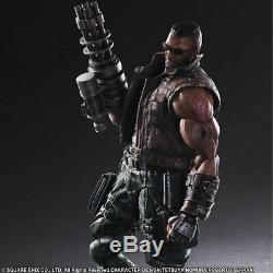 OFFICIAL Final Fantasy VII (7) Play Arts Kai Barret Wallace Action Figure