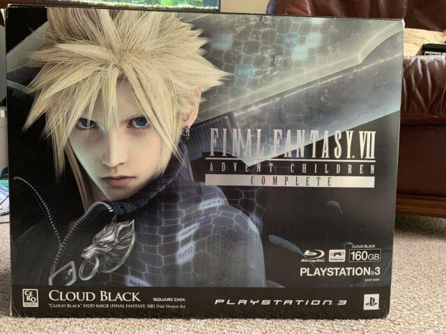 Ps3 Final Fantasy Vii 7 Advent Children Complete Limited Edition Console