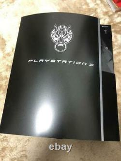 PS3 Playstation3 Final Fantasy VII Advent Children Cloud Black Limited Boxed