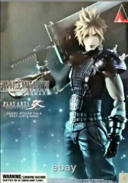 Play Arts Kai Cloud Strife Final Fantasy VII Remake Action US SELLER Authentic