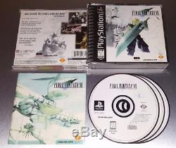 Playstation 1 Best of RPGs Final Fantasy VII Chrono Cross Legend of Dragoon PS1