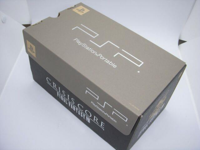 Playstation Portable Psp Final Fantasy Vii Crisis Core Limited Box Ice Silver