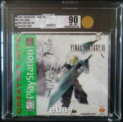Ps1 Final Fantasy VII 7 Greatest Hits Brand New Factory Sealed Vga 90