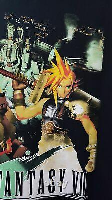 Rare Final Fantasy 7 VII Shirt Large Video Game Playstation PS1 PSX SONY