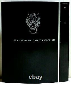 Sony PS3 Final Fantasy VII CLOUD BLACK Japan Limited Edition Game Console PARTS