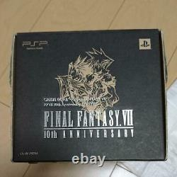 Sony PSP 2000 Final Fantasy VII 7 Crisis Core Edition with Many Accessories Used