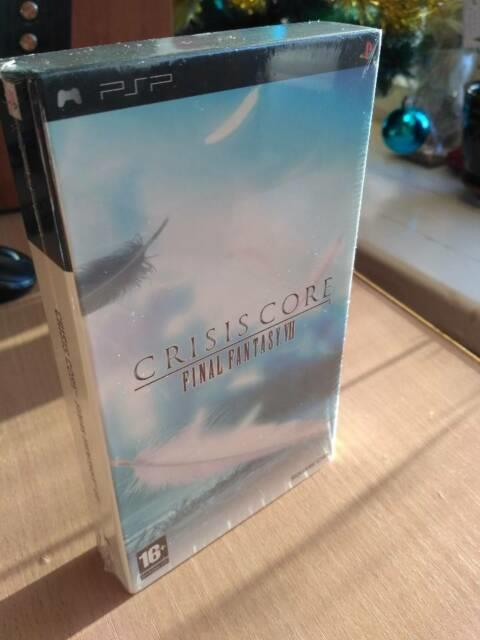 Sony Psp Crisis Core Final Fantasy Vii Limited Edition Uk Only! Factory Sealed