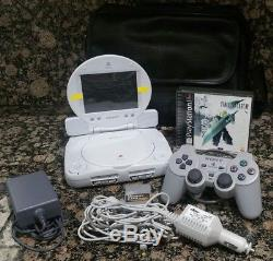 Sony PlayStation 1 Console Final Fantasy VII LCD Screen Car Adapter PS1 PSOne 7