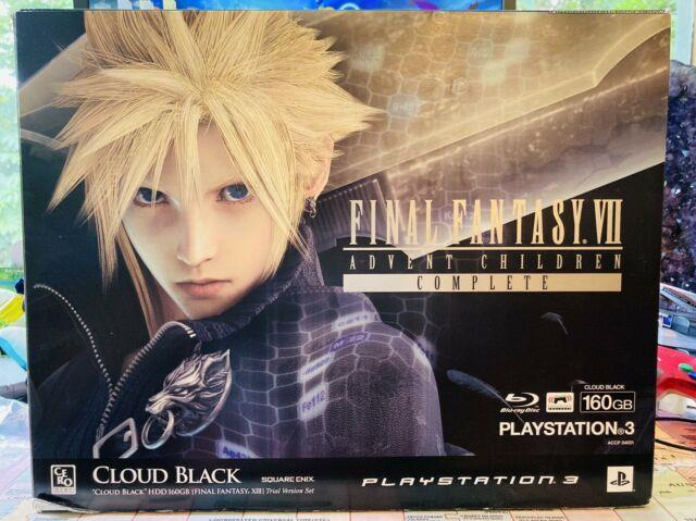 Sony Playstation 3 Ps3 Final Fantasy Vii Advent Children Limited Edition Console