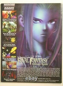 Unauthorized Final Fantasy VII Ultimate Guide WITH POSTER Rare Versus Books 1997