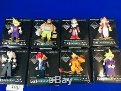 With Boxes FINAL FANTASY VII 7 REMAKE Memorial Kuji G Mini Figure 8-Complete set