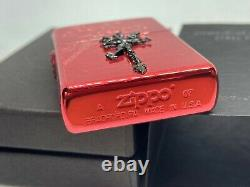 ZIPPO Limited Edition FINAL FANTASY VII FF7 The Dirge of Cerberus Lighter Red